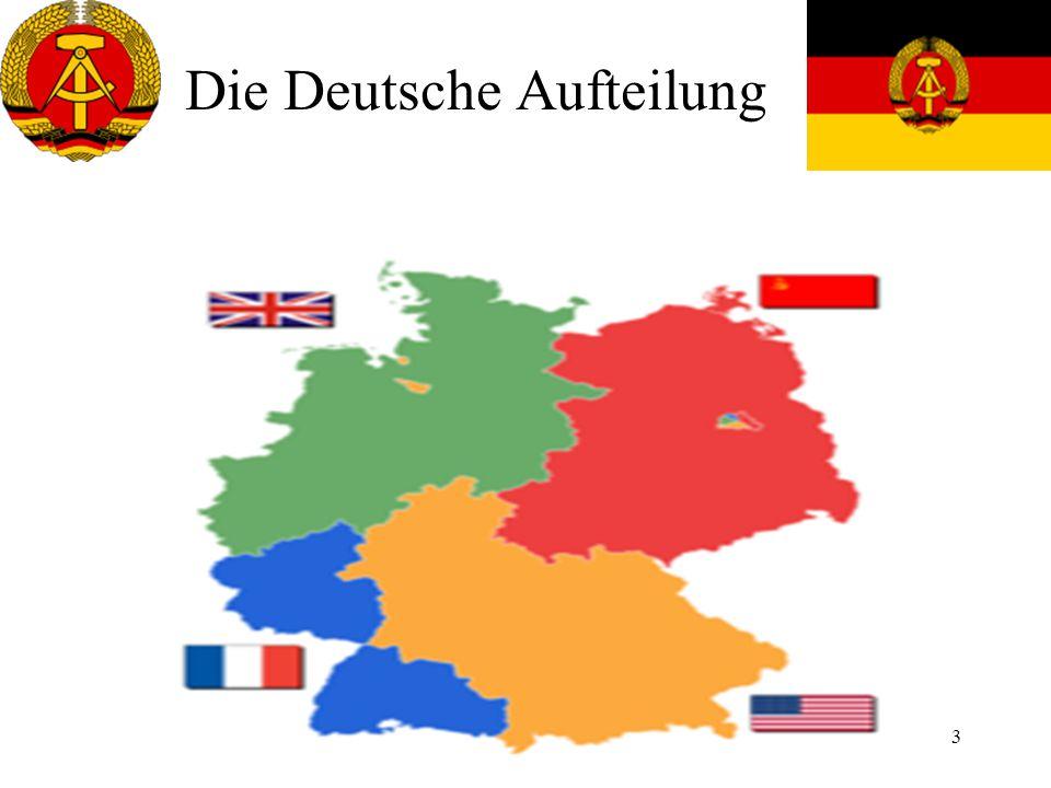Die Deutsche Aufteilung