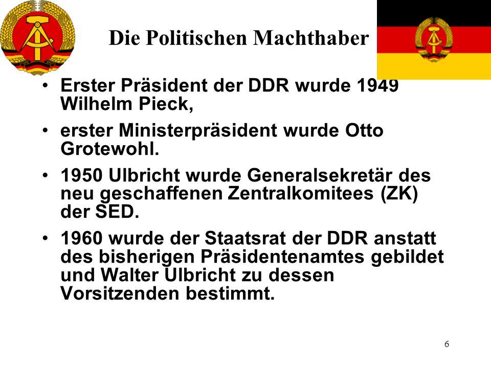 Die Politischen Machthaber