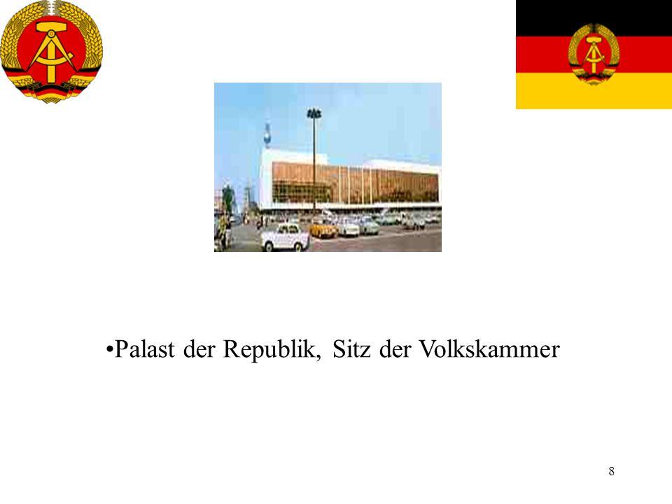 Palast der Republik, Sitz der Volkskammer