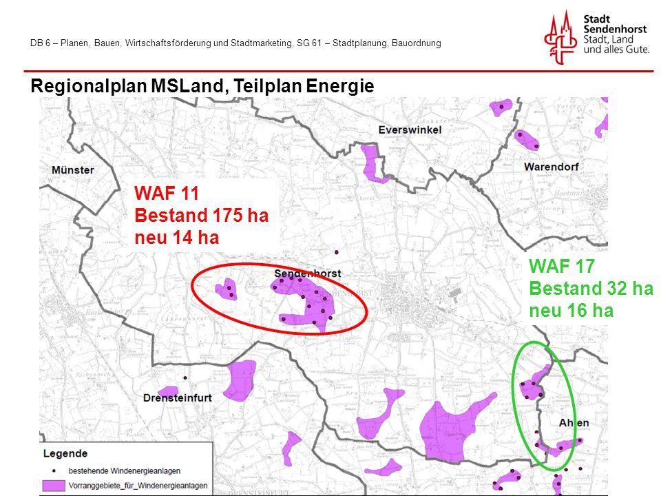 Regionalplan MSLand, Teilplan Energie