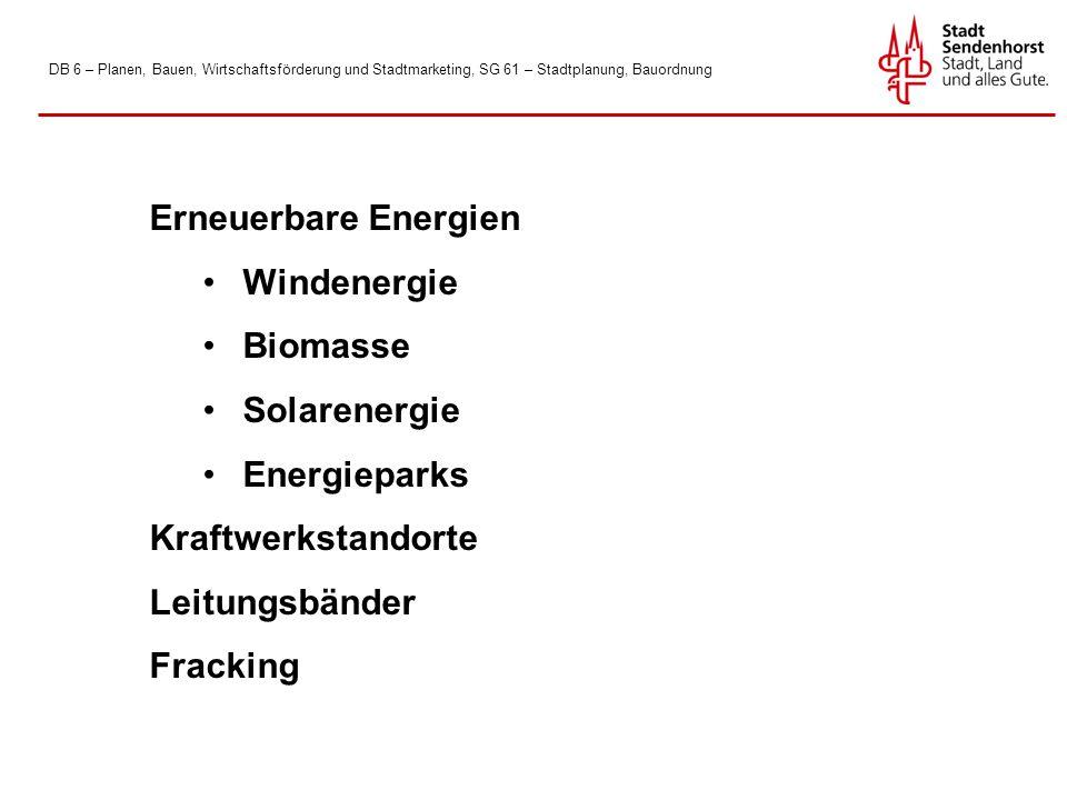Erneuerbare Energien Windenergie Biomasse Solarenergie Energieparks