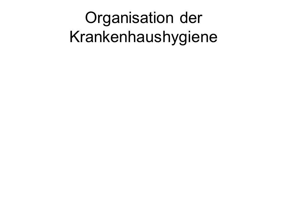 Organisation der Krankenhaushygiene