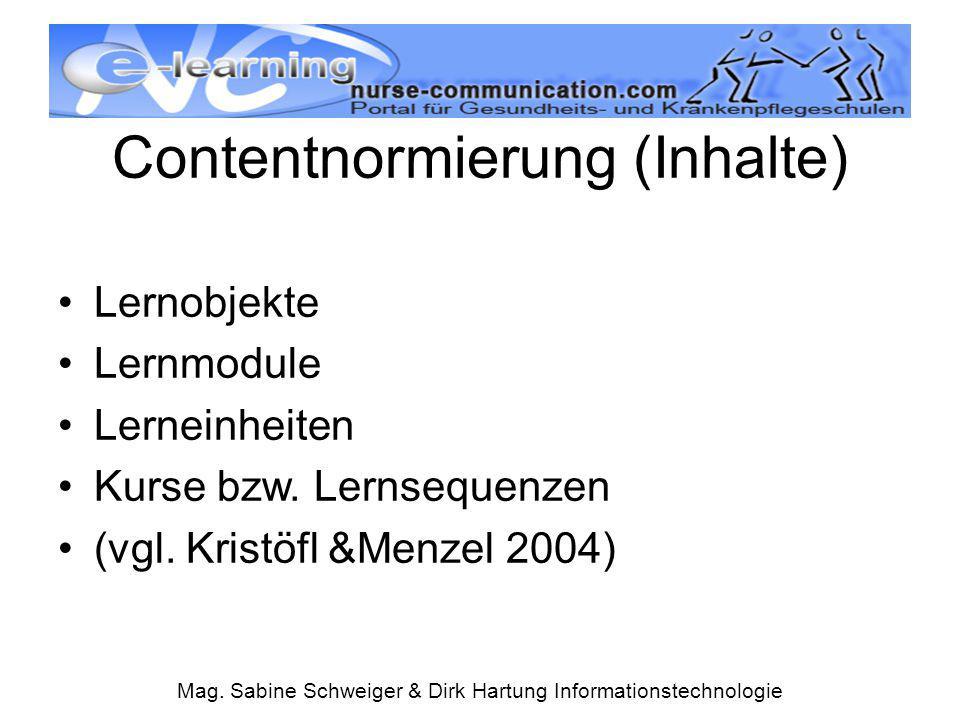 Contentnormierung (Inhalte)