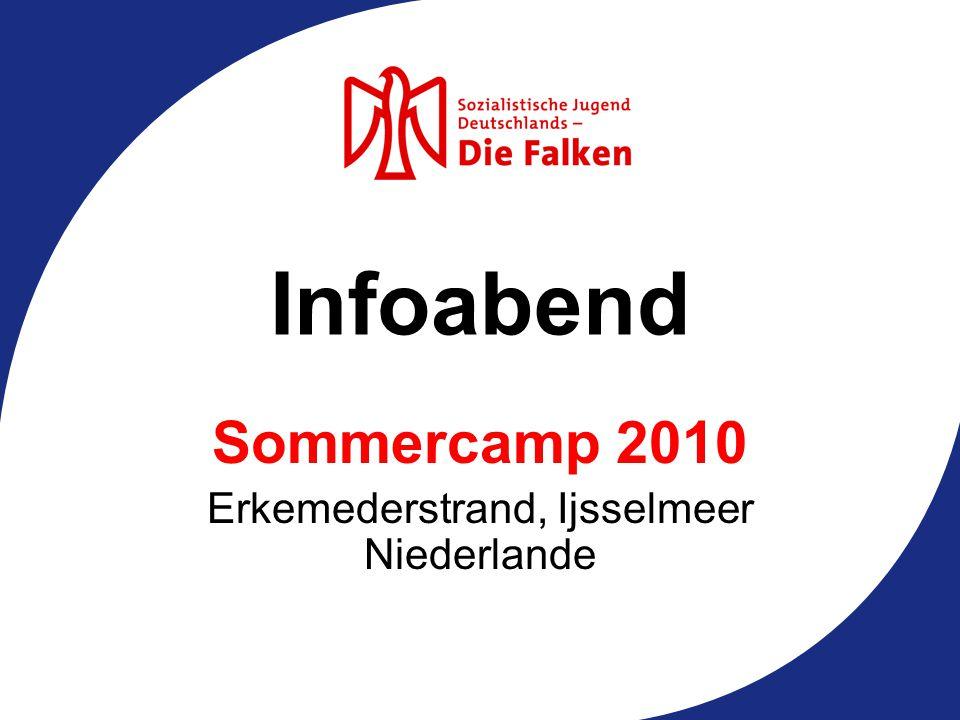 Sommercamp 2010 Erkemederstrand, Ijsselmeer Niederlande