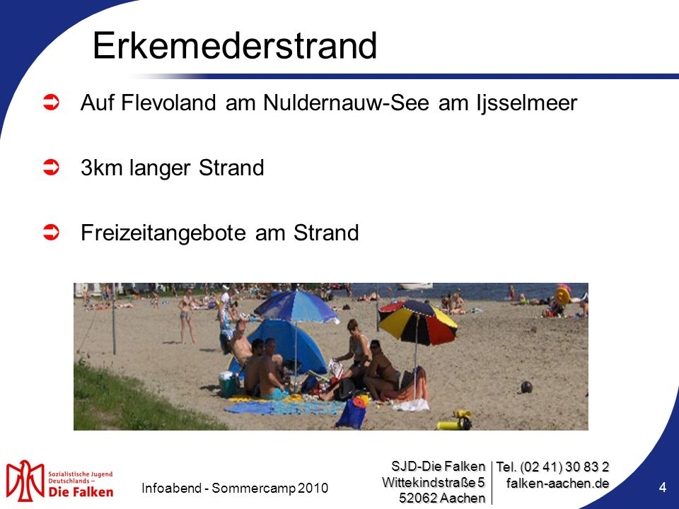Infoabend - Sommercamp 2010