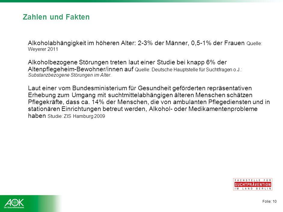 Zahlen und Fakten In Deutschland sind schätzungsweise 1,4 - 1,5 Mio. Menschen medikamentenabhängig, davon.