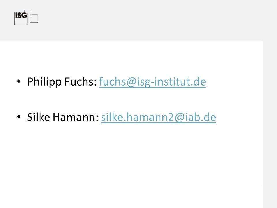 Philipp Fuchs: fuchs@isg-institut.de