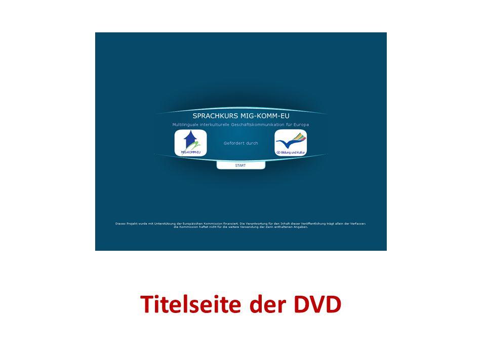 Titelseite der DVD