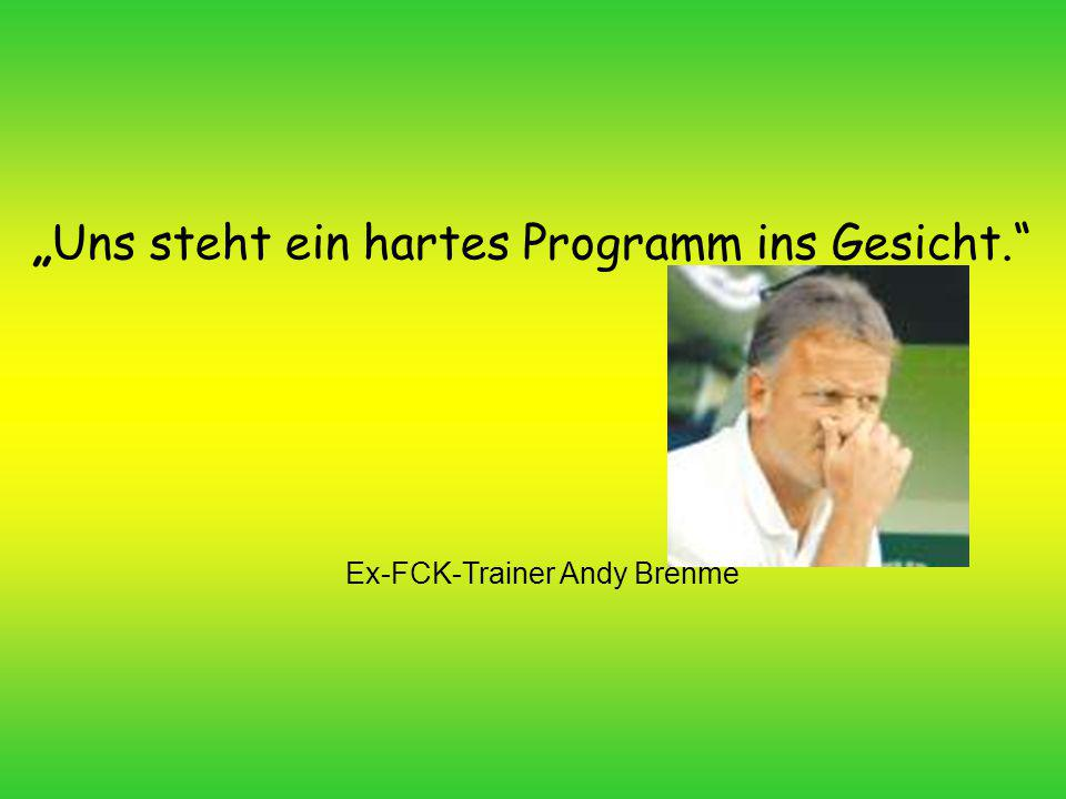 Ex-FCK-Trainer Andy Brehme