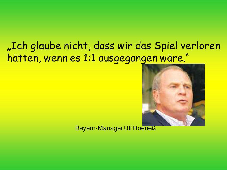 Bayern-Manager Uli Hoeneß