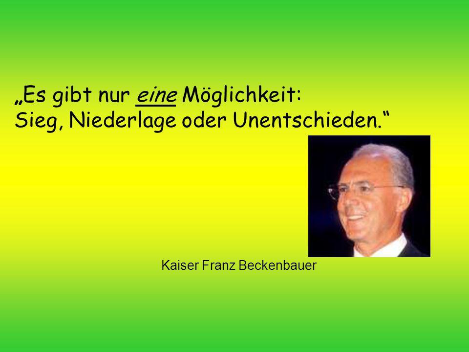 Kaiser Franz Beckenbauer