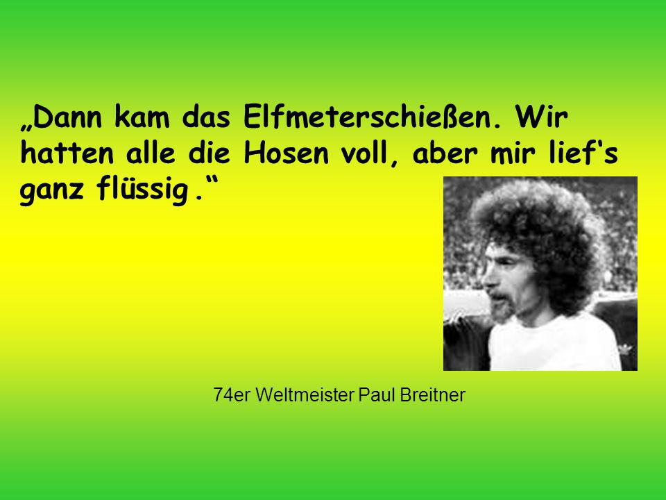 74er Weltmeister Paul Breitner