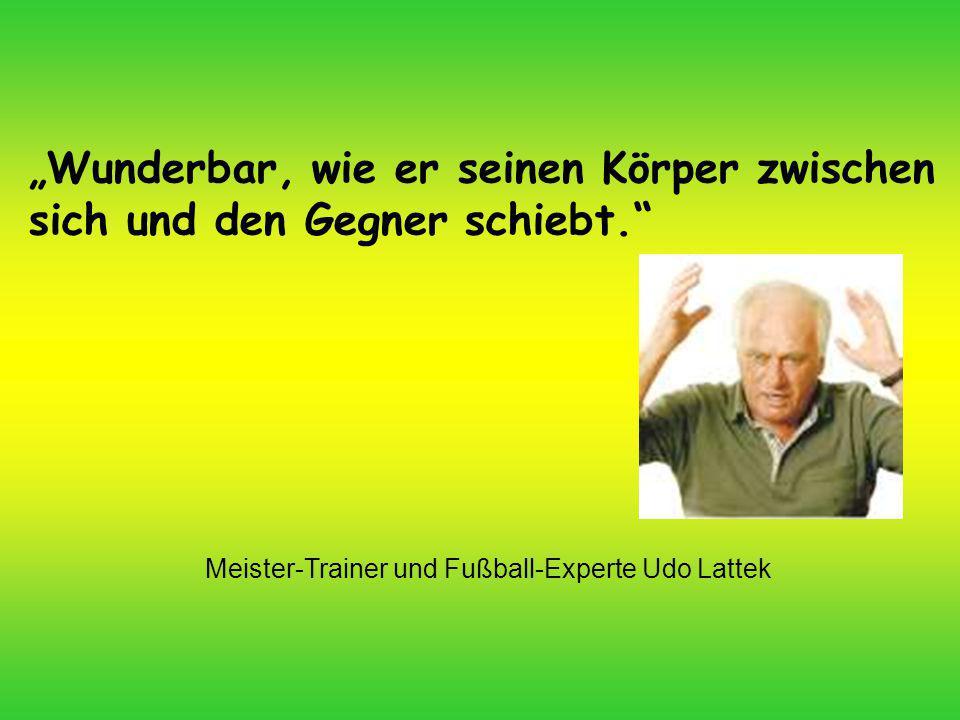 Meister-Trainer und Fußball-Experte Udo Lattek