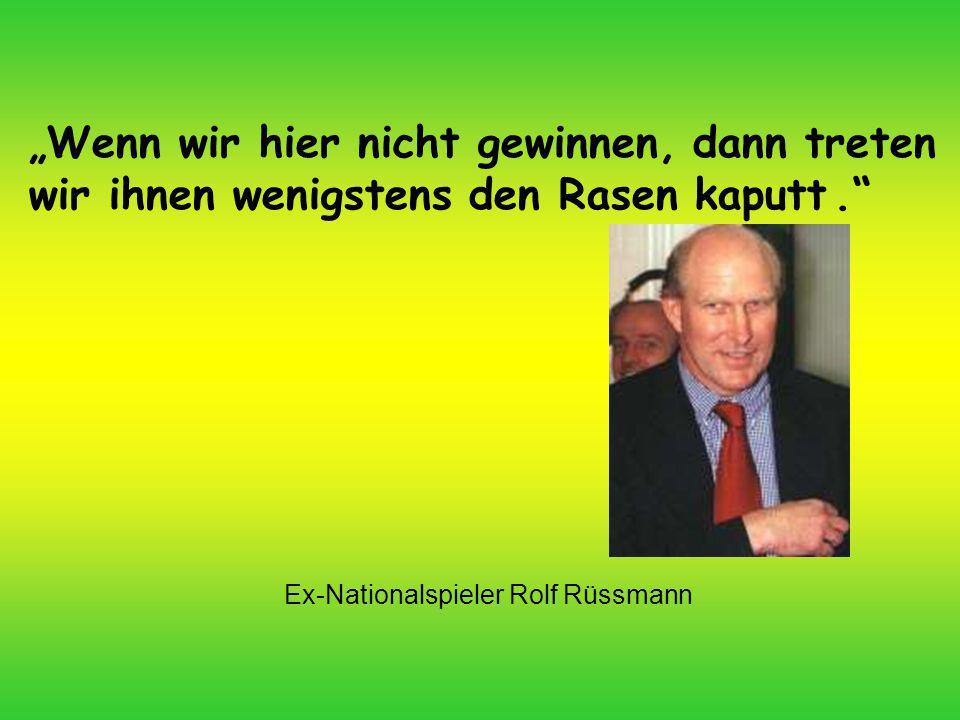 Ex-Nationalspieler Rolf Rüssmann