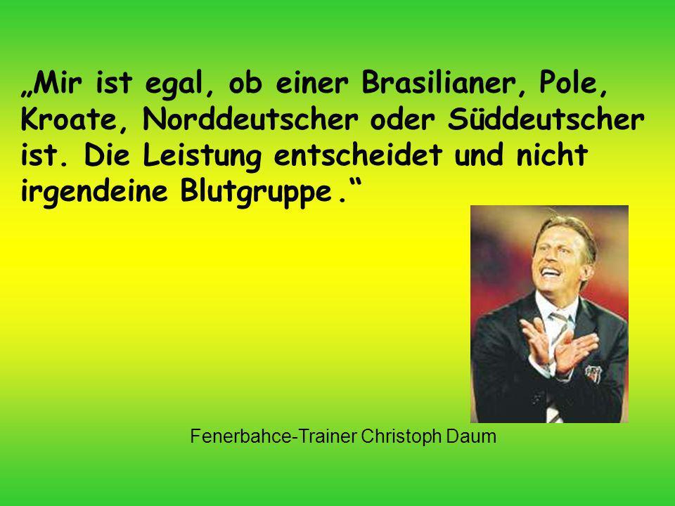 Fenerbahce-Trainer Christoph Daum