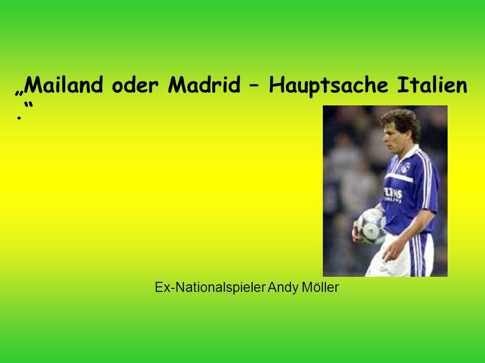 Ex-Nationalspieler Andy Möller