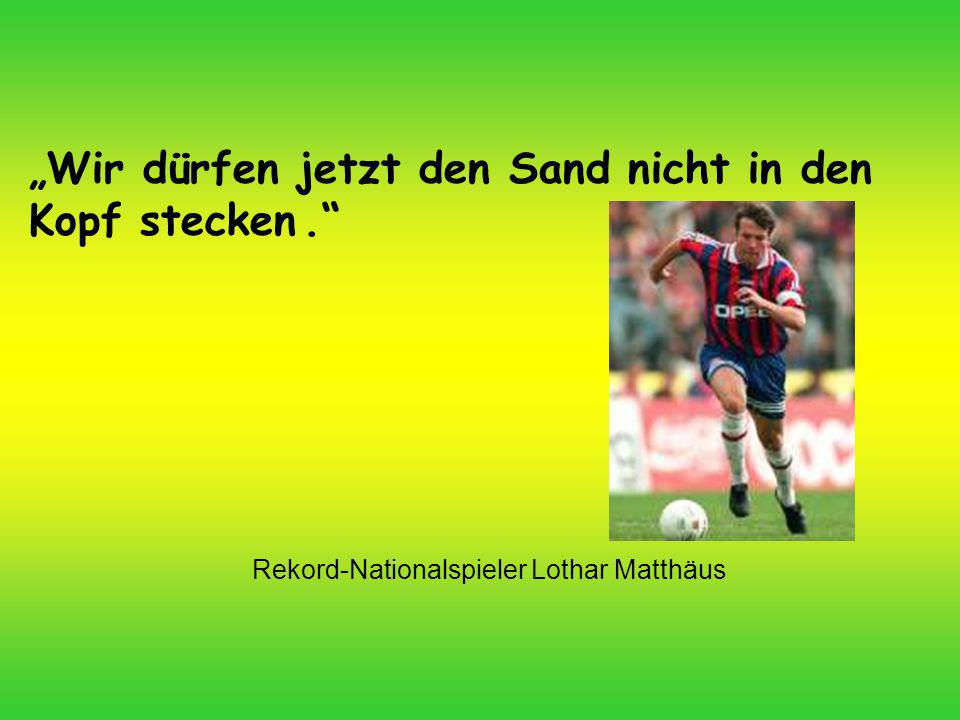 Rekord-Nationalspieler Lothar Matthäus
