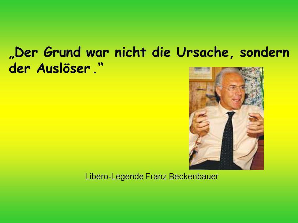 Libero-Legende Franz Beckenbauer