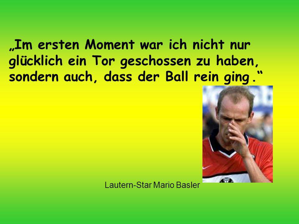 Lautern-Star Mario Basler