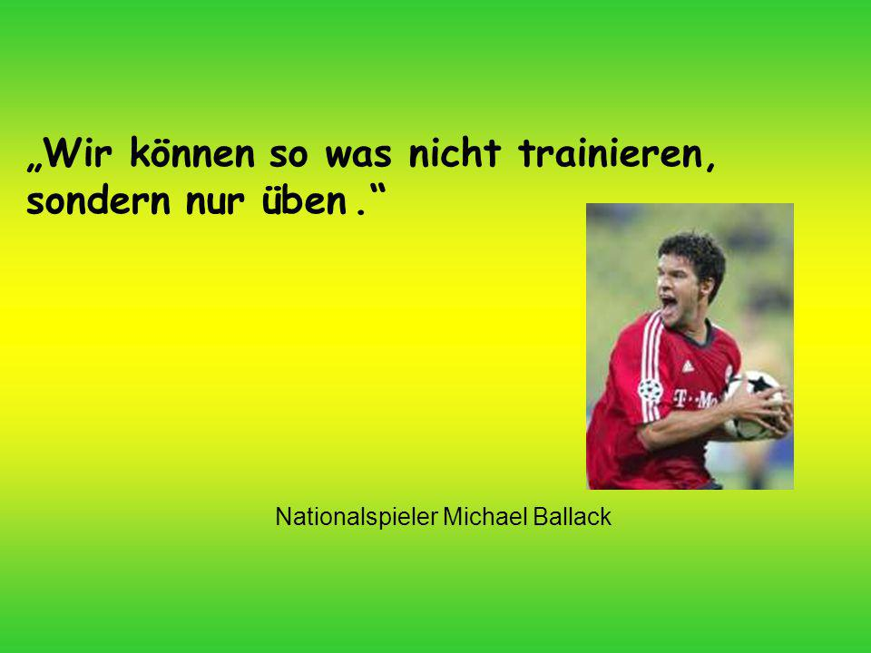 Nationalspieler Michael Ballack