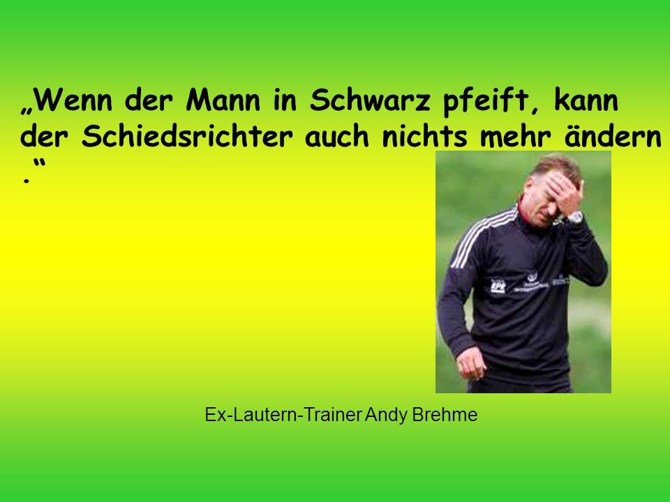 Ex-Lautern-Trainer Andy Brehme