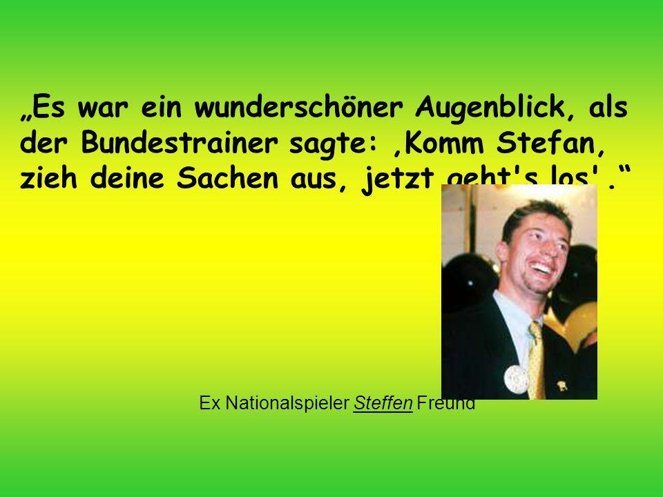 Ex Nationalspieler Steffen Freund