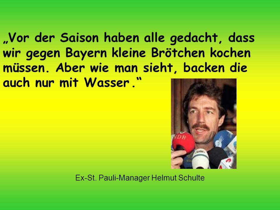 Ex-St. Pauli-Manager Helmut Schulte