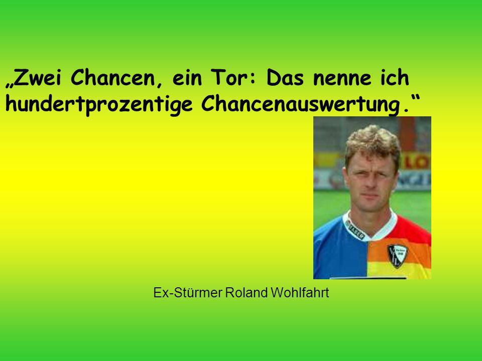 Ex-Stürmer Roland Wohlfahrt