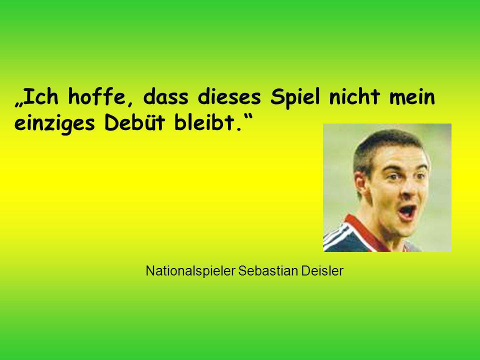 Nationalspieler Sebastian Deisler