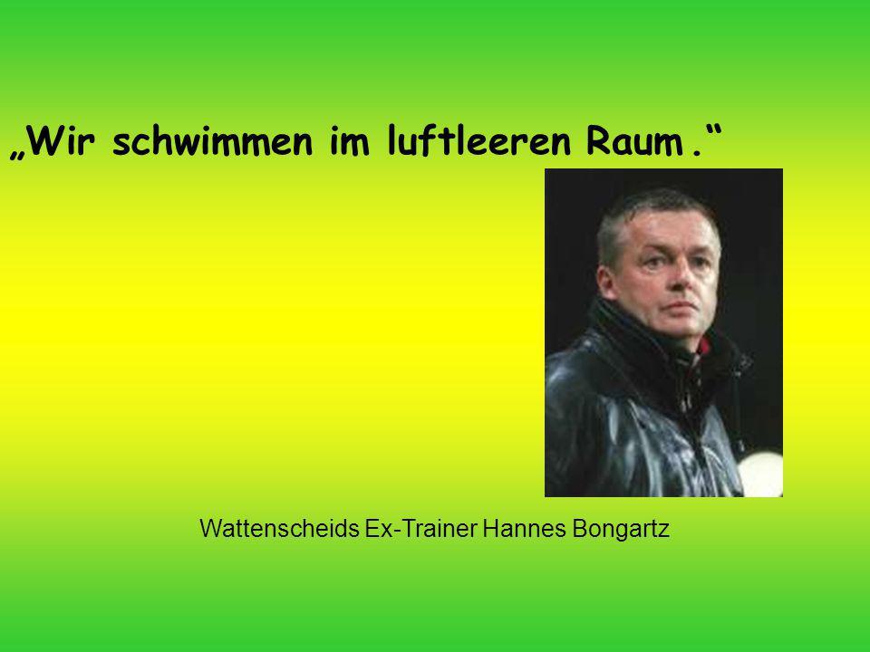 Wattenscheids Ex-Trainer Hannes Bongartz