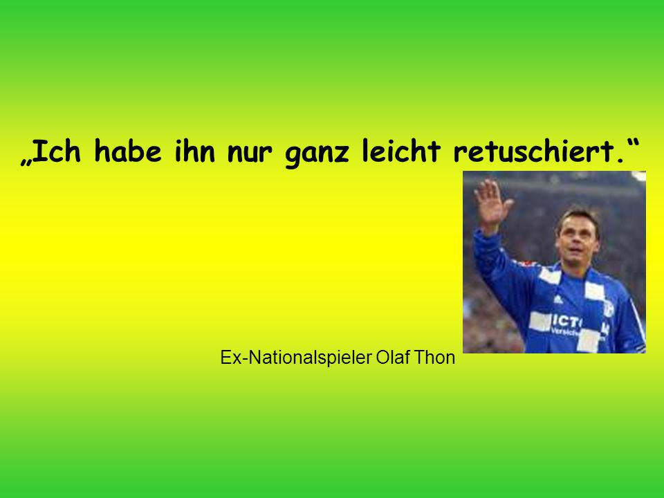 Ex-Nationalspieler Olaf Thon