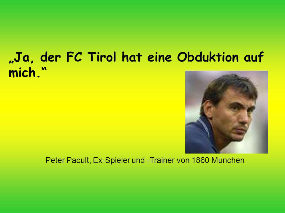 Peter Pacult, Ex-Spieler und -Trainer von 1860 München