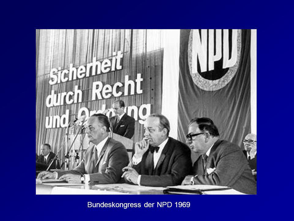 Bundeskongress der NPD 1969