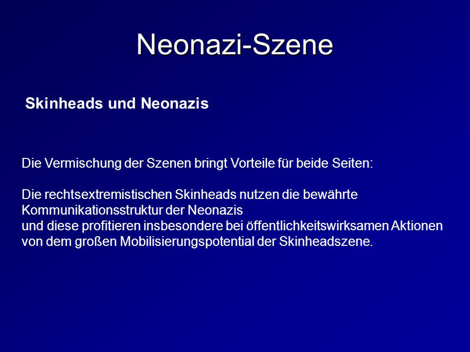 Neonazi-Szene Skinheads und Neonazis