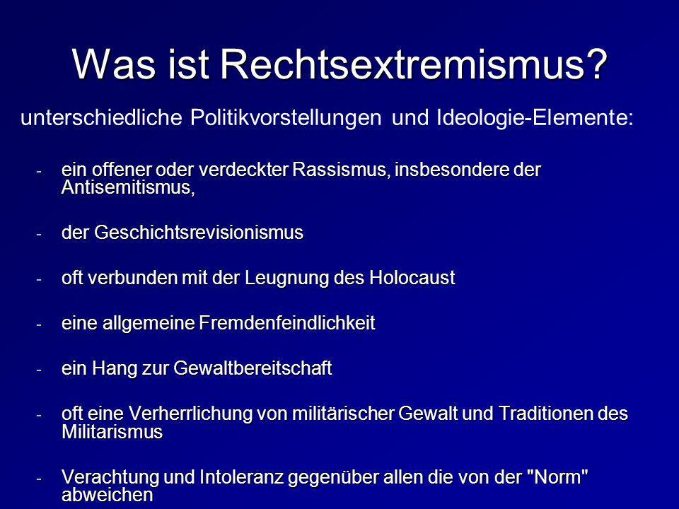Was ist Rechtsextremismus