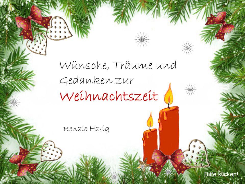 Wünsche, Träume und Gedanken zur Weihnachtszeit