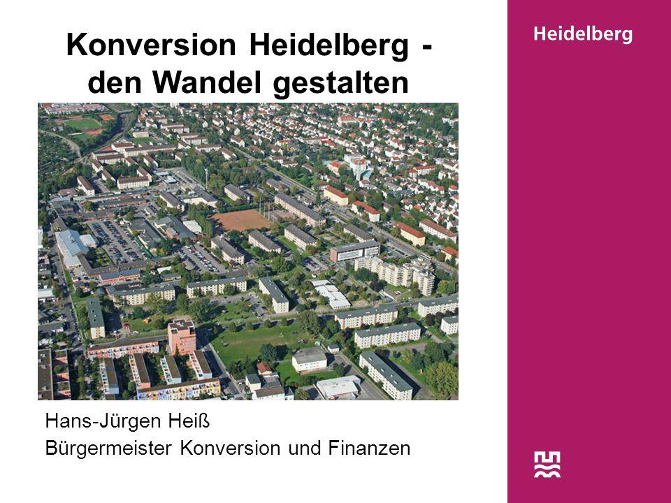 Konversion Heidelberg - den Wandel gestalten
