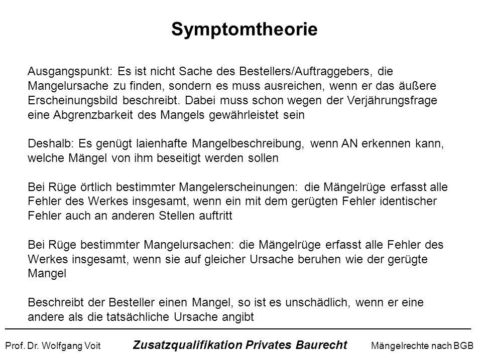 Symptomtheorie