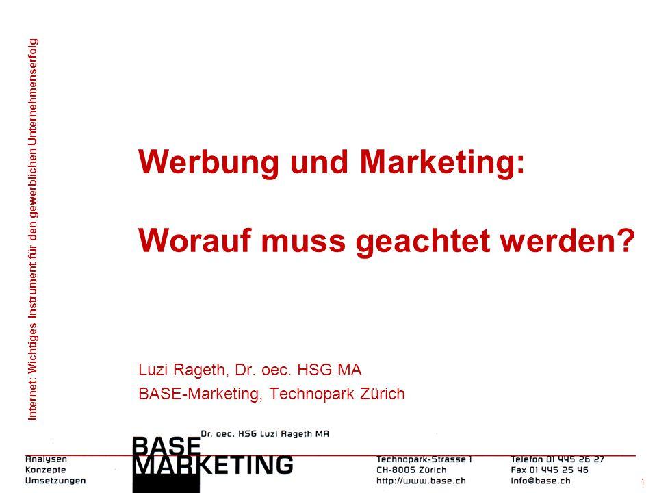 Werbung und Marketing: Worauf muss geachtet werden