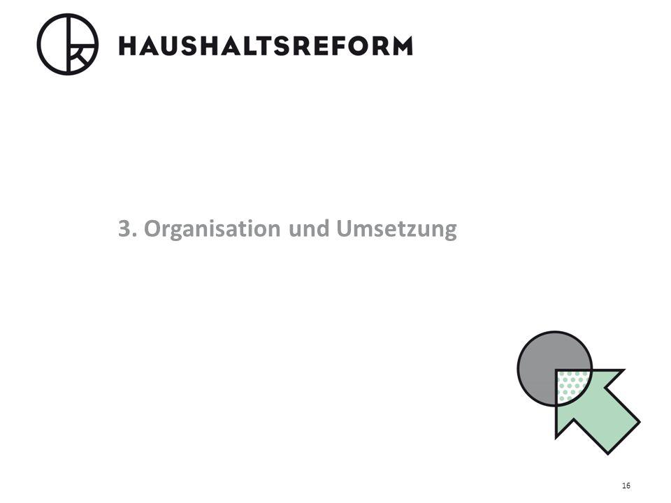 3. Organisation und Umsetzung