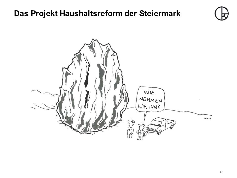 Das Projekt Haushaltsreform der Steiermark
