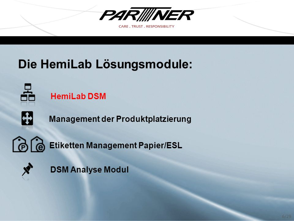 Die HemiLab Lösungsmodule:
