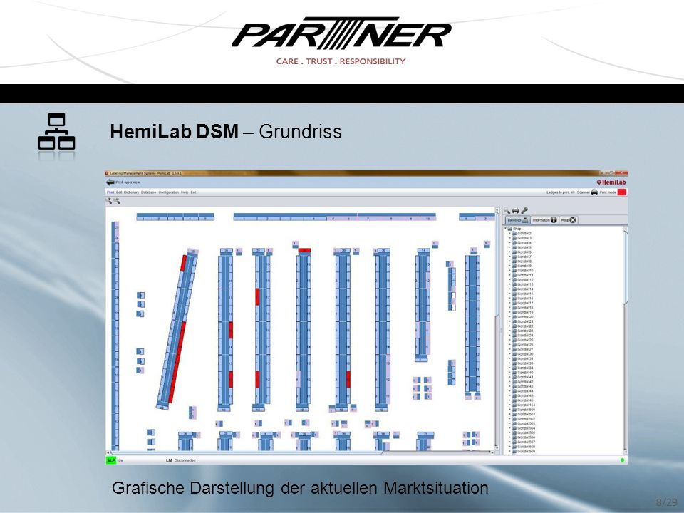 HemiLab DSM – Grundriss