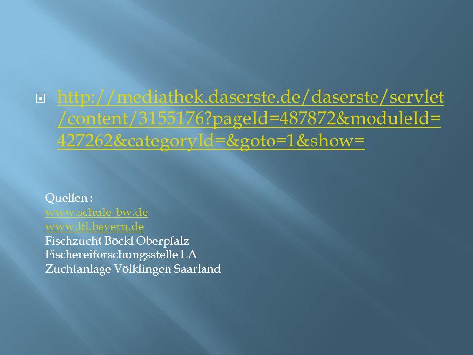 http://mediathek. daserste. de/daserste/servlet/content/3155176