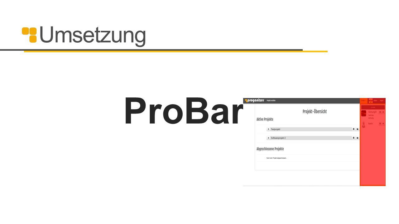 Umsetzung ProBar 24