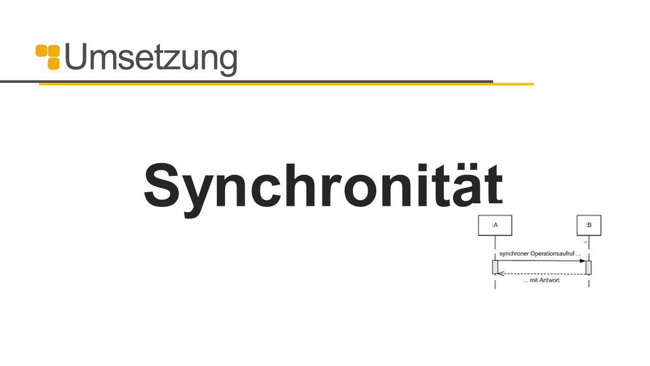 Umsetzung Synchronität 36