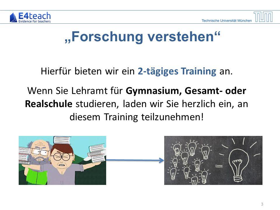 """Forschung verstehen"