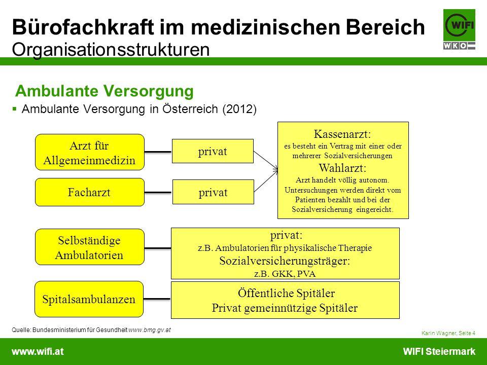 Ambulante Versorgung Ambulante Versorgung in Österreich (2012)