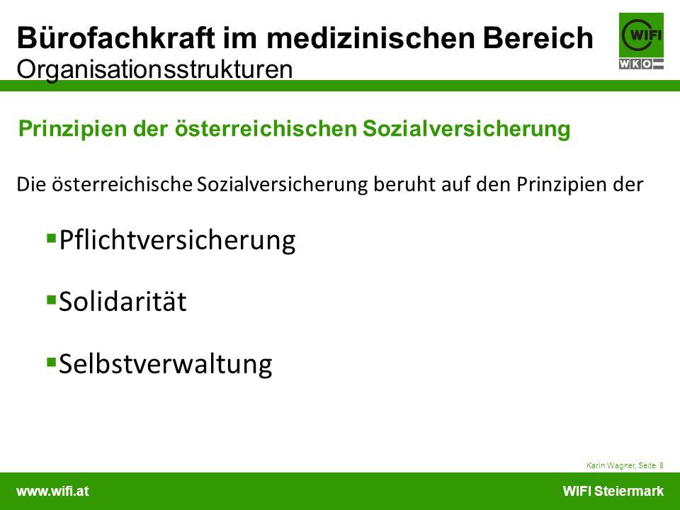 Prinzipien der österreichischen Sozialversicherung