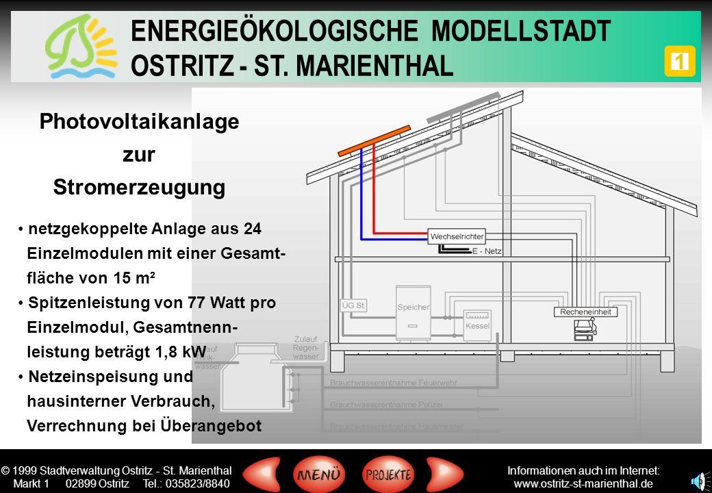 Photovoltaikanlage zur Stromerzeugung